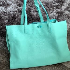 Leather tote bag (read description)